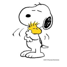 Snoopy and Woodstock BFF