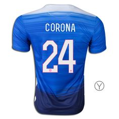 2015 Joe Corona Youth Away Jersey #24 USA Soccer