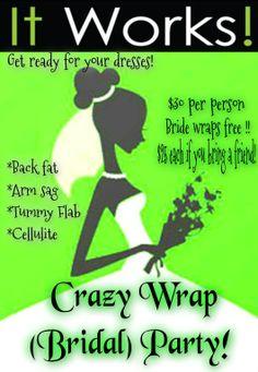 Wrap a Bride!! Call/Text me today! Pamela 856-364-0095, fitntrimbodywraps@gmail.com, https://fitntrimbodywraps.myitworks.com