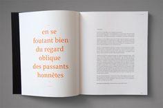 Editorial Design  Oblique by Nicolas Zentner