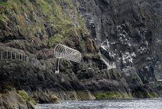 The Gobbins Cliff Path Attrraction Irish Sea, Emerald Isle, I Want To Travel, Beautiful Places, Beautiful People, Ireland Travel, New Adventures, Belfast, Northern Ireland