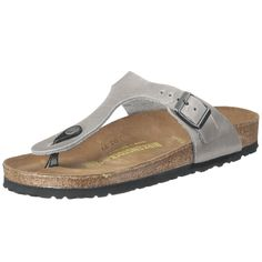 Birkenstock Gizeh Smooth Leather, Unisex Thong Sandals