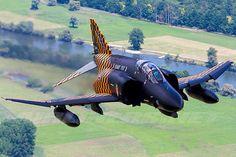 A McDonnell Douglas F-4F Phantom II of the German Luftwaffe.
