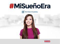 ¡Sueños cumplidos! ¿Cuáles son los tuyos? Utiliza EL HT #MiSueñoEra http://bimbo.com.mx/nuevos-mexicanos/