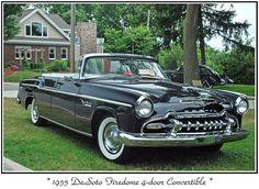 1955 De Soto Firedome Four Door Convertible