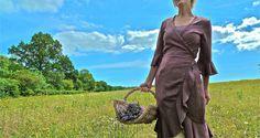 Verity Hope Dress in Brown.. £69.00, via Etsy.