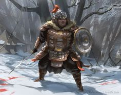 Mongolian Warrior!