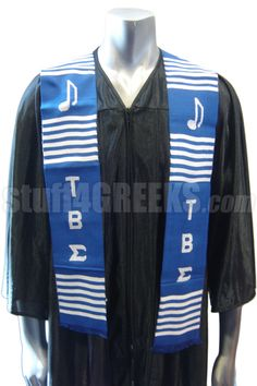 TAU BETA SIGMA KENTE GRADUATION STOLE  Item Id: PRE-TBSSTOLE-BLUE    Price: $39.00 Can we have these at UNA?? Cause I want one!!