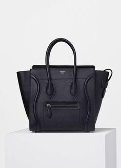 d98ef51107d Micro Luggage Handbag in Drummed Calfskin - Spring   Summer Collection 2016
