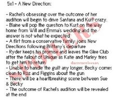 Klaine proposal not what he expected? Does that mean yes!? Ryan Murphey, AT LEAST have them get back together!