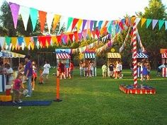 Super mexican party games for kids dia de ideas Fall Carnival, Diy Carnival, Circus Carnival Party, School Carnival, Carnival Birthday Parties, Circus Birthday, First Birthday Parties, Birthday Party Themes, Carnival Booths