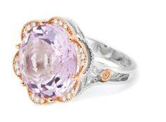 <3 Lavender rose amethyst ring by Tacori