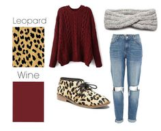 Wine and leopard | 26 Essential Fall Color Palettes You Need To Try