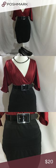 Fall fashion dress Polyester spandex blend. Machine washable. Accessories not included. Dresses