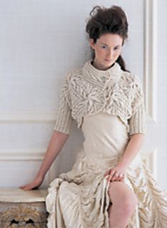 Cabled Bolero pattern by Norah Gaughan Shrug Knitting Pattern, Bolero Pattern, Knitting Paterns, Knit Shrug, Crochet Tunic, Crochet Shrugs, Cable Knitting, Crochet Sweaters, Knitting Projects