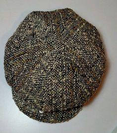 Studio Donegal Tam O' Shanter Wool Flat Cap Newsboy Cabbie Golf Size Medium Hat Tam O' Shanter, Flat Cap, Donegal, Vintage Men, Knitted Hats, Golf, Studio, Knitting, Ebay