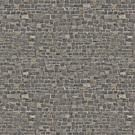 A tough, timeless wallpaper design out of brown stone.