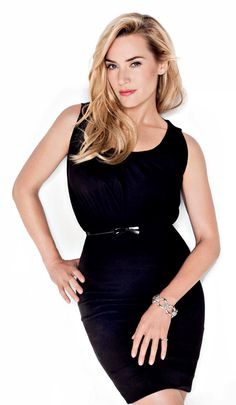 Kate Winslet saucy in a lbd
