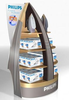 PHILIPS Pos Display, Product Display, Store Displays, Point Of Purchase, Point Of Sale, Pos Design, Philips, Advertising Design, Exhibitions