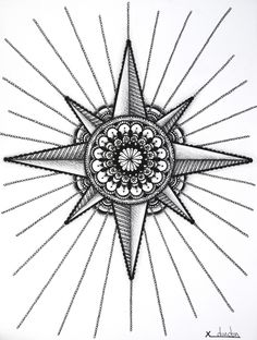 Mandala Wind Rose