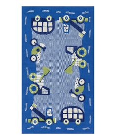 zulily-Exclusive Blue Zoey Rug