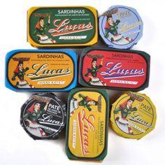 Luças Pack 4 sardinhas  e 3 Pates