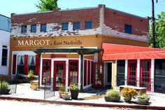Margot Cafe, East Nashville. A favorite local eatery.