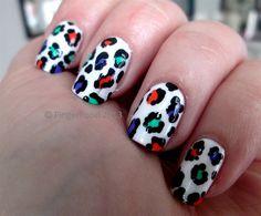Leopard print by fingerfood - Nail Art Gallery nailartgallery.nailsmag.com by Nails Magazine www.nailsmag.com #nailart