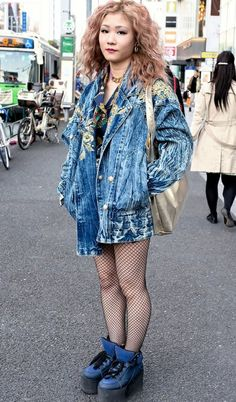 Harajuku fashion industry girl