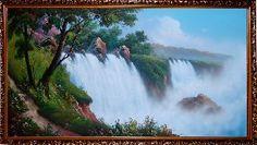 Бушующий водопад - Водопады <- Картины маслом <- Интерьер <- VIP - Каталог | Универсальный интернет-магазин подарков и сувениров