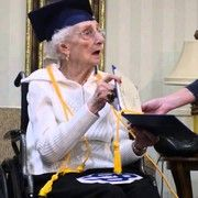 nice NINETY SEVEN-yr-previous receives diploma: WATCH as Mich. woman tearfully accepts her diploma