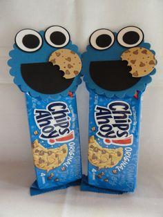 Mira que idea mas chula para las fiestas de los peques Cookie Monster... really…