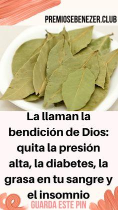 La llaman la bendición de Dios: quita la presión alta, la diabetes, la grasa en tu sangre y el insomnio – salud esencial