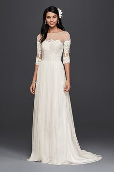 Wedding gown by Galina, Style WG3817