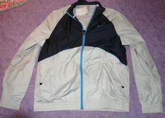 NIKE Men's Training Jacket Gray Fitstorm Size XL NWT-$80 #Nike #TrainingJacketRainwear