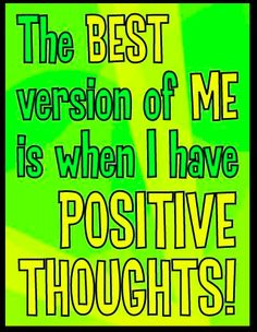 Are you having a positive thoughts? More at our FB page!:): www.facebook.com/MotleyGreenNetwork