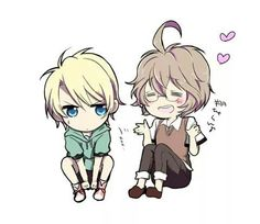Syo and Natsuki - chibi ^^