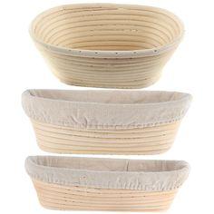 [US $8.31] Loriver Oval Dough Banneton Brotform Dougn Rattan Bread  #banneton #bread #brotform #dough #dougn #loriver #oval #rattan