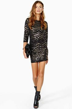 Fever Sequin Dress | Shop Dresses at Nasty Gal