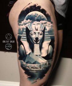 Moonlite Egyptian tattoo