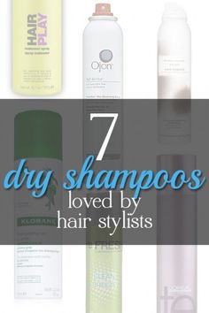 7 Dry Shampoos Loved by Hair Stylists