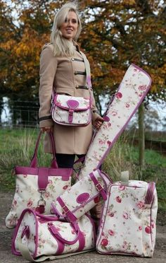 Love the hunt coat and the different 'pink' for hunting gear