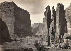 Timothy O'Sullivan 1873 Photo of Canyon De Chelly in Arizona