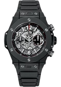 Hublot - Big Bang 45mm Unico Black Magic Watch 411.CI.1170.CI