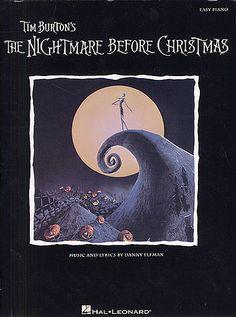 Elfman: Tim Burton's The Nightmare Before Christmas - Easy Piano. £9.95
