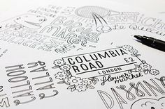 Hand Lettering Posters by Tobias Hall - http://www.playmagazine.info/hand-lettering-posters-tobias-hall/