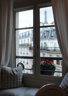 View from a 7eme apartment window, Paris