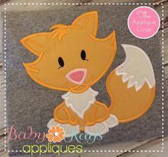 A really cute design! This sweet fox stitches up fast and easy.