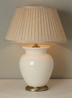 Cream Large Harris Table Lamp - Table Lamps - Home, Lighting u0026 Furniture