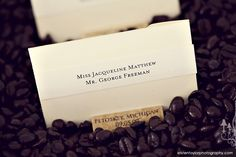 personalized wine cork place card holders